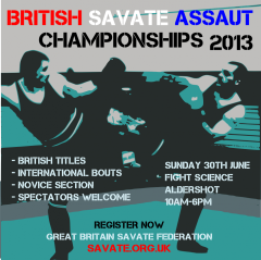 British Savate Assaut Championships 2013