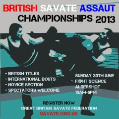 British Savate Assaut Championships 2013