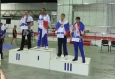 James' podium finish